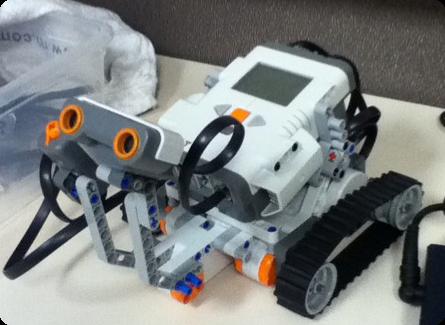Lego Mindstorms robot