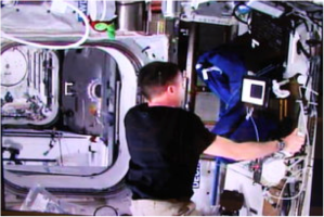 Space station haptic