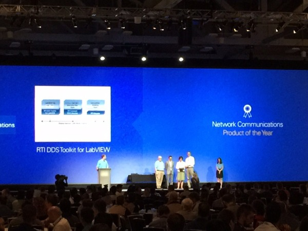 NIWeek 2015 RTI Accepting Award
