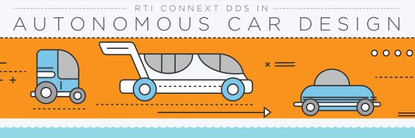 autonomous car design rti connext dds