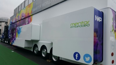 Mentor Embedded on the NXP Smarter World Truck 2017